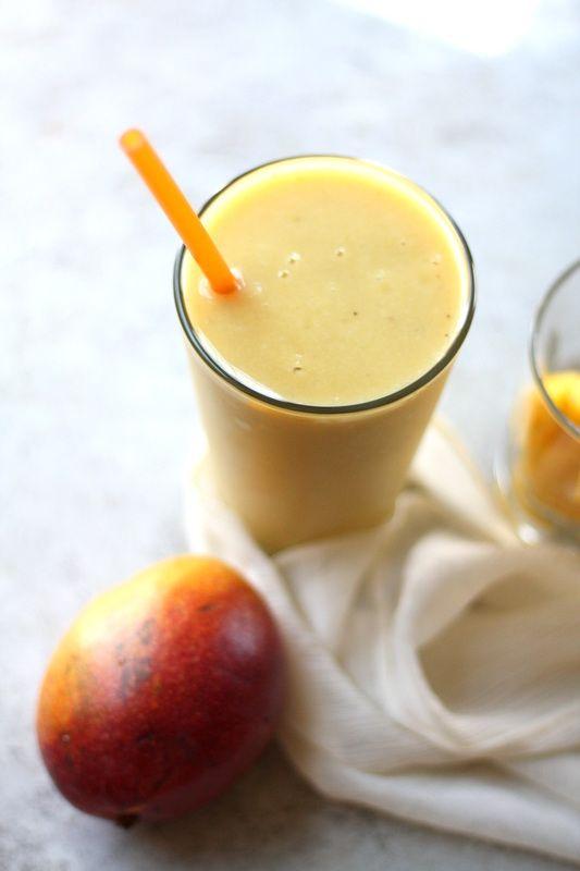 Апельсиновый коктейль из манго