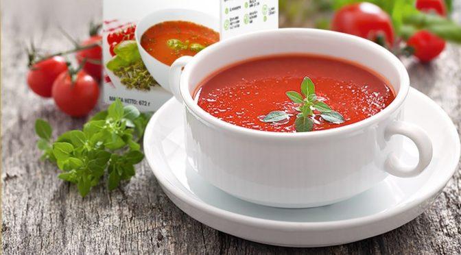 томатный суп с базеликом от гербалайф